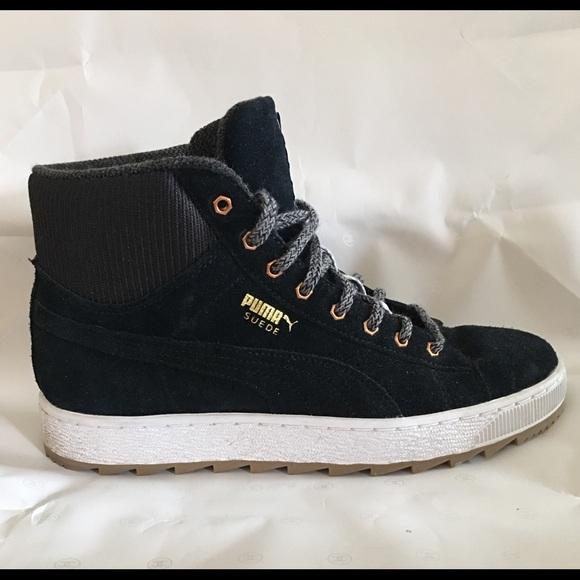 size 40 50f81 7f51d Puma Suede women's high top sneaker